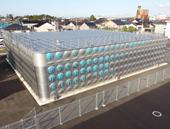 SUS製で耐震性を向上/丸の内配水場更新で竣工式/小松市上下水道局