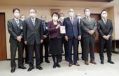 全環衛生組合から寄付金/自然災害対策のために活用/仙台市建設局