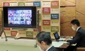 広島県、企業団設立へ協議会/15市町と水道事業統合で協定締結